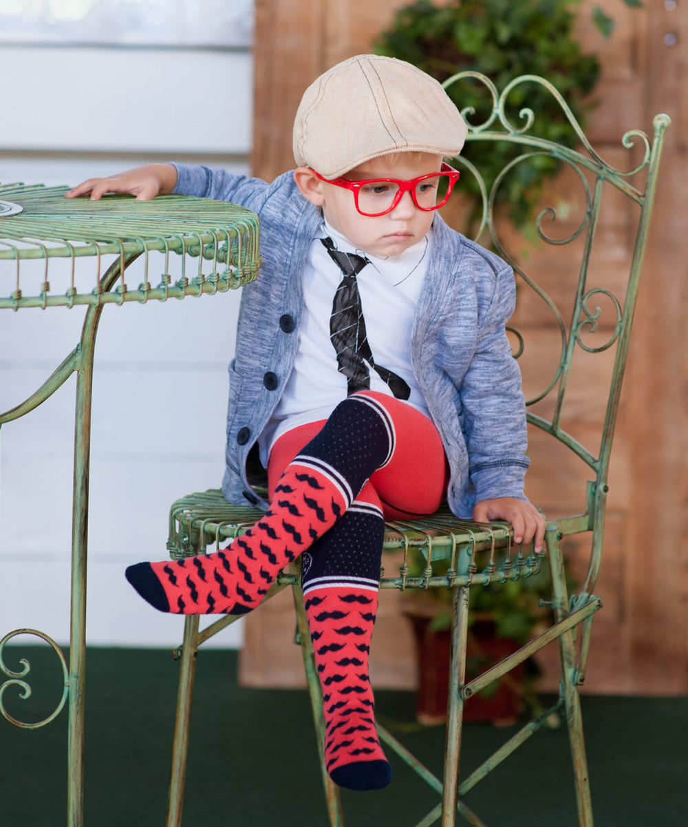 """Hipster""- Baby Boy & Baby Girl Tights"