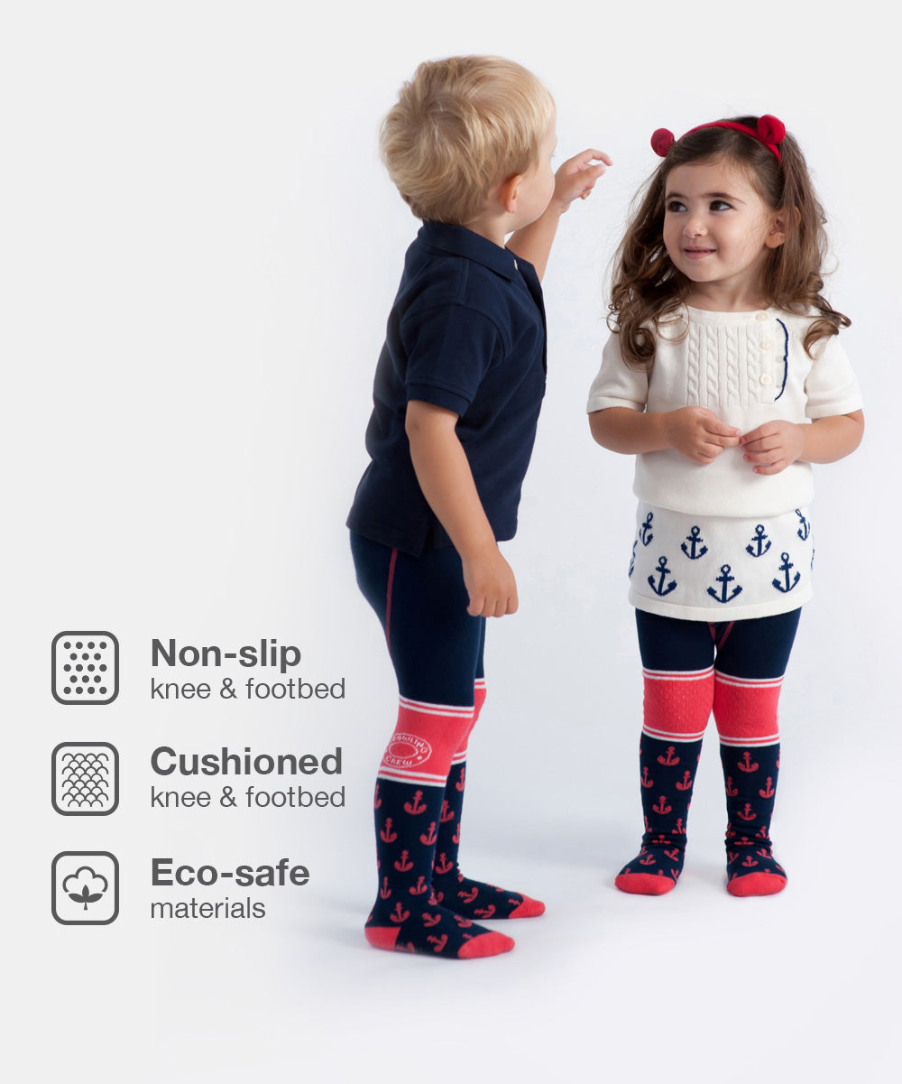 """Lil' Skipper""- Baby Boy & Baby Girl Tights"