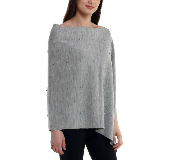 Bubble Knitted Poncho
