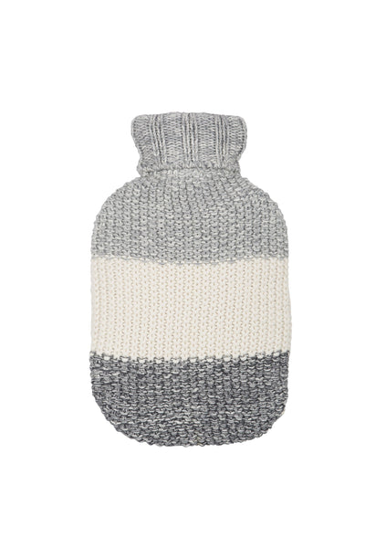 Marl Moss Knitted Hot Water Bottle