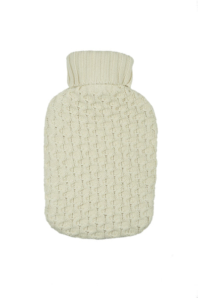 Honeycomb Knitted Hot Water Cover