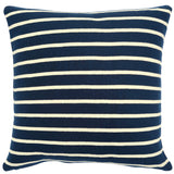 Beach Stripe Knitted Pillow