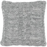 Chunky Braid  Knitted Pillow