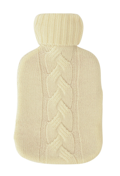 Cable Knit Hot Water Bottle