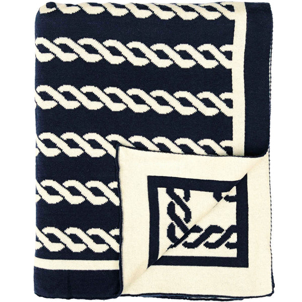 Nautico Rope Knitted Throw