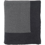 Herringbone Knitted Throw
