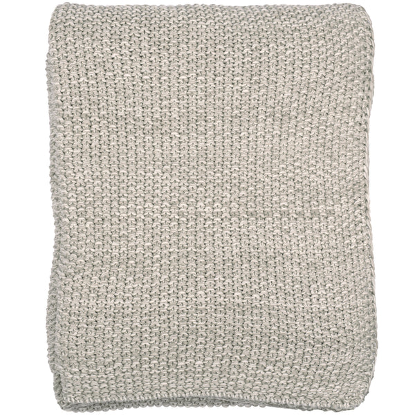 Motely Moss Knitted Throw