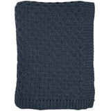 Honeycomb Knitted Throw