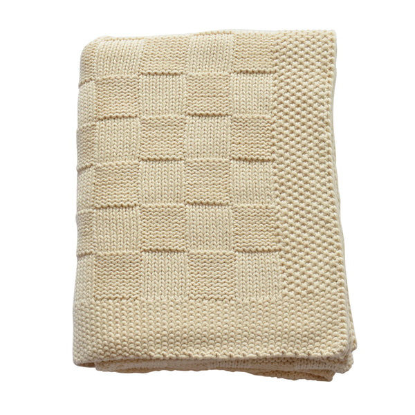 Box Knitted Throw