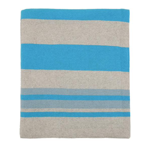 Ibiza Linen and Cotton Knitted Throw