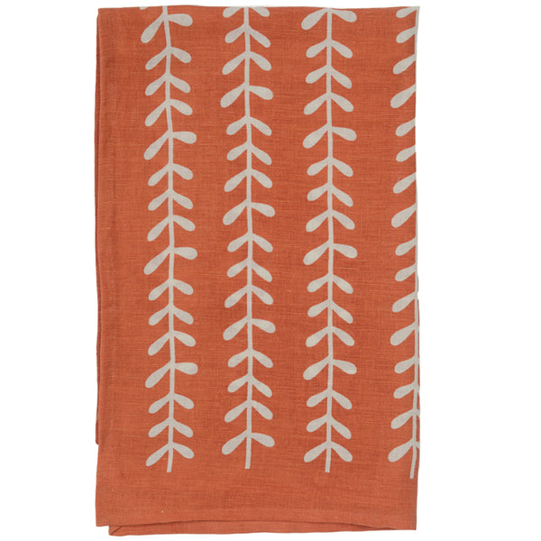 Leaf Linen Tea Towel