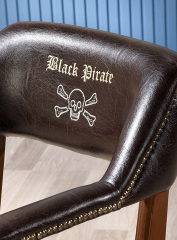 Captain's Chair, pirate furniture, children luxury furniture, kid's designer furniture, pirate Chair furniture, pirate Chair