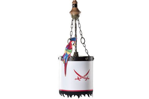 Pirate Ceiling Lamp, pirate furniture, children luxury furniture, kid's designer furniture, Pirate Ceiling Lamp furniture