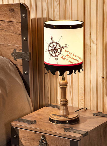 Pirate Table Lamp, pirate furniture, children luxury furniture, kid's designer furniture, Pirate Table Lamp furniture
