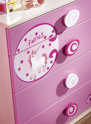 Princess Chest with 4 drawers