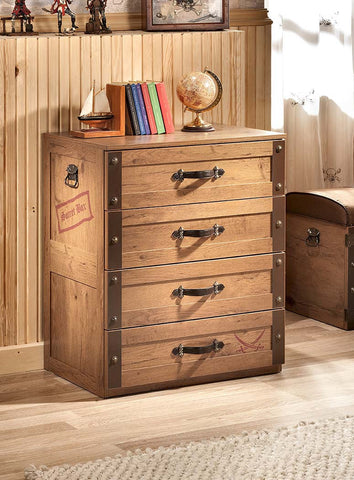 Treasure Chest with 4 drawers, pirate furniture, children luxury furniture, kids furniture, children furniture, kid's designer furniture, Treasure Chest with 4 drawers furniture