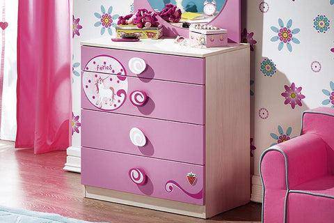 Princess Series  - Dresser with 4 drawers