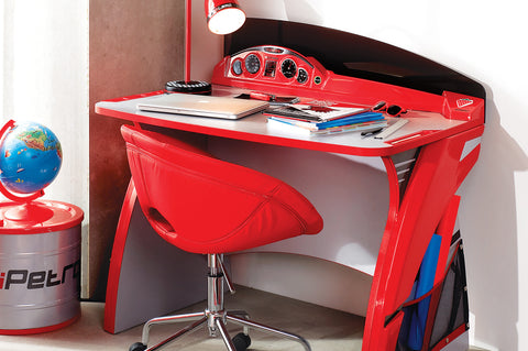 Turbo Series - Red Racer Study Desk