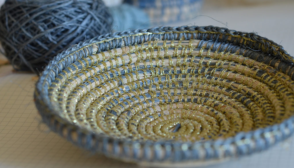 Weaving With Pineapple Fique String Harvest
