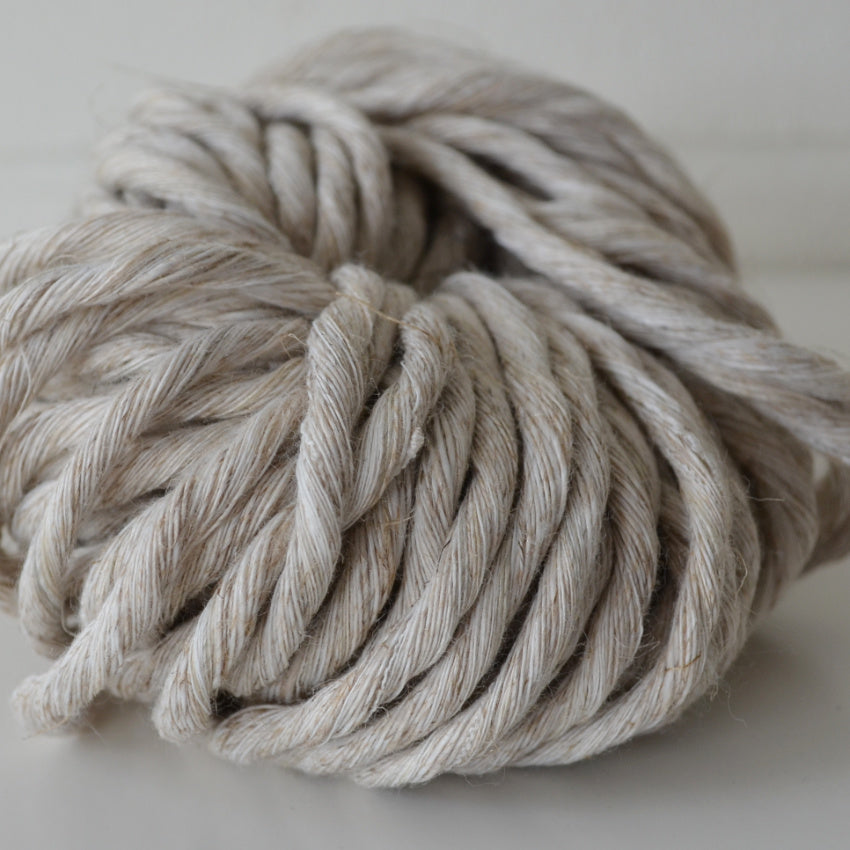 4mm linen recycled cotton string 100m/500g