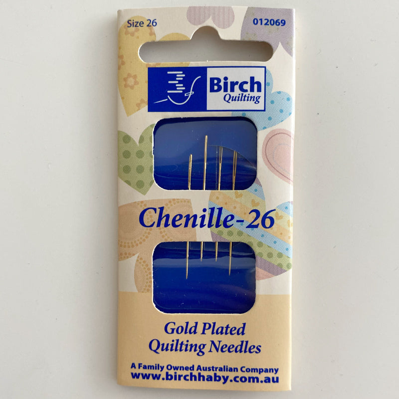 Birch Needles Gold Plated Chenille