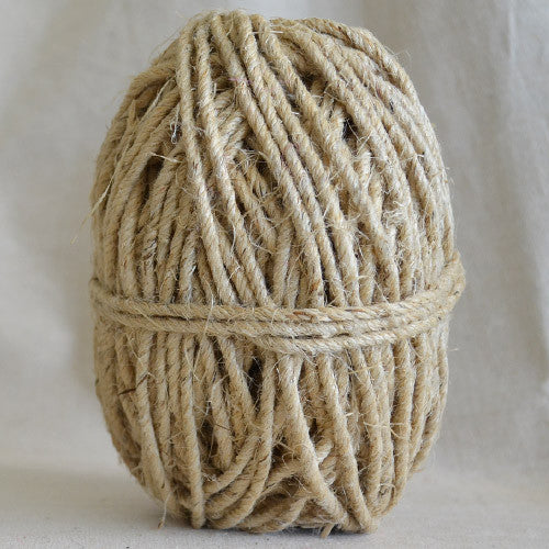 Chunky Hemp twine 50m - Natural - String Harvest - 1
