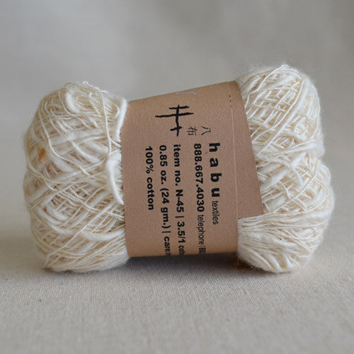 Habu N-45 nerimaki cotton: natural - String Harvest - 2