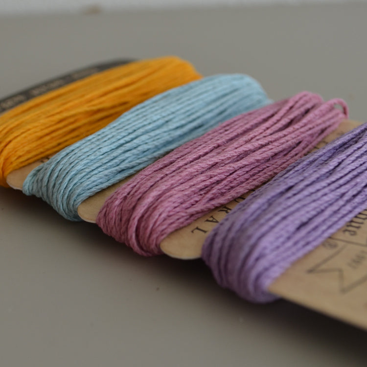 Hemp cord set - Pastels
