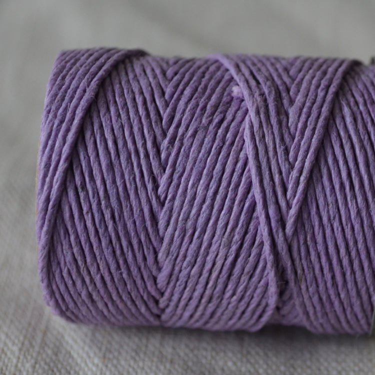 Hemptique hemp cord 1mm 50g Lavender