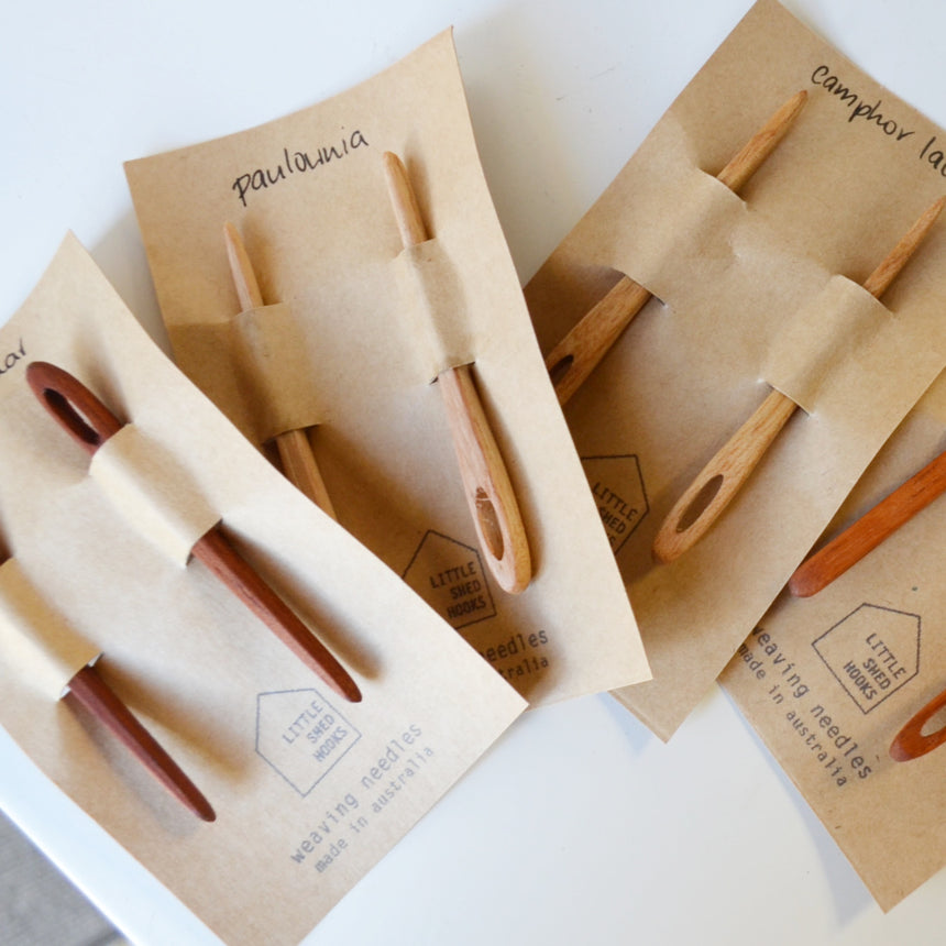 reclaimed wood needle 2 pack: rosewood