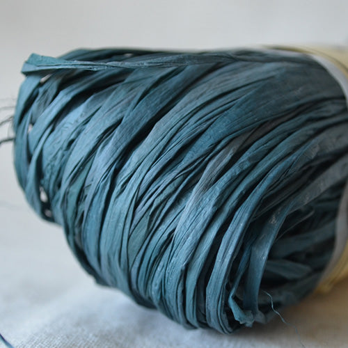 Nutscene Raffia: 50g Forest Green - string-harvest