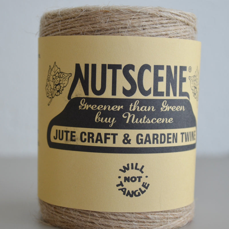 Nutscene Single ply fine jute for craftwork 120m
