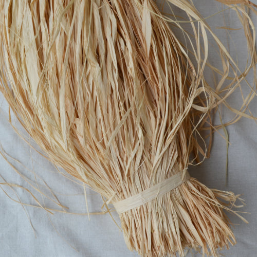 SALE Natural raffia 1kg: Short budget - string-harvest