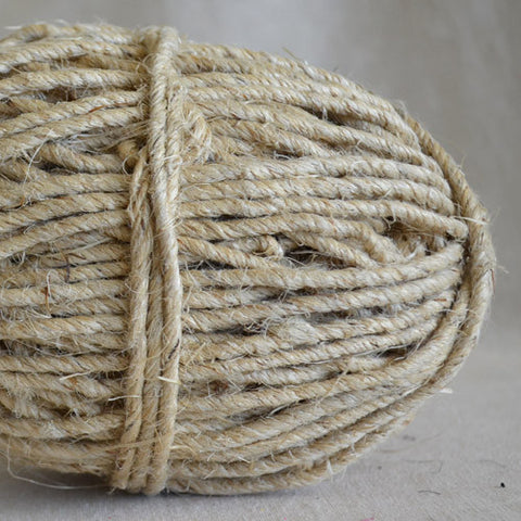 Chunky Hemp twine 50m - Natural - String Harvest - 2