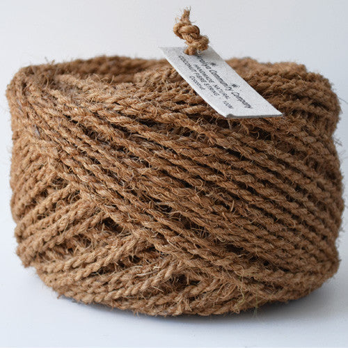 Coconut coir string 100m natural - string-harvest