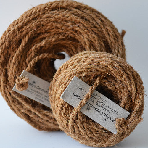 Coconut coir natural 25m - string-harvest