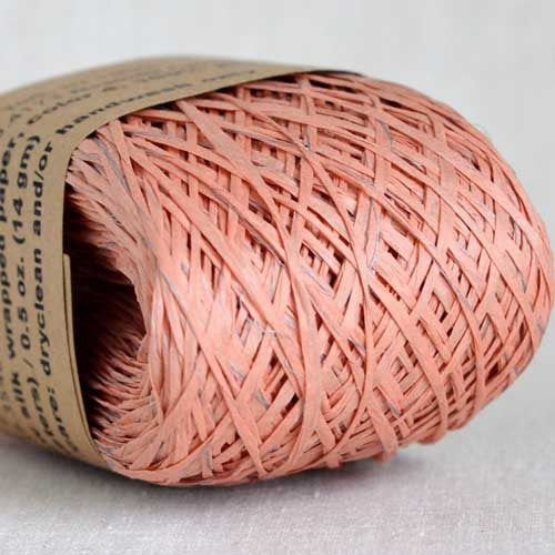 Habu N-24B raw silk wrapped paper - String Harvest - 4