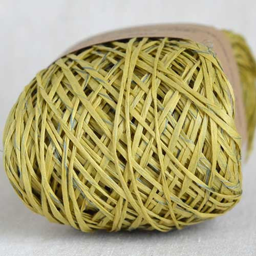 Habu N-24B raw silk wrapped paper - String Harvest - 3
