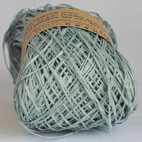 Habu N-24B raw silk wrapped paper - String Harvest - 1