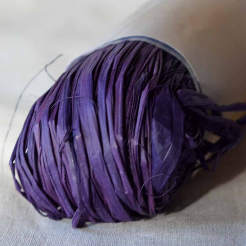 Nutscene Raffia: 50g Purple - String Harvest