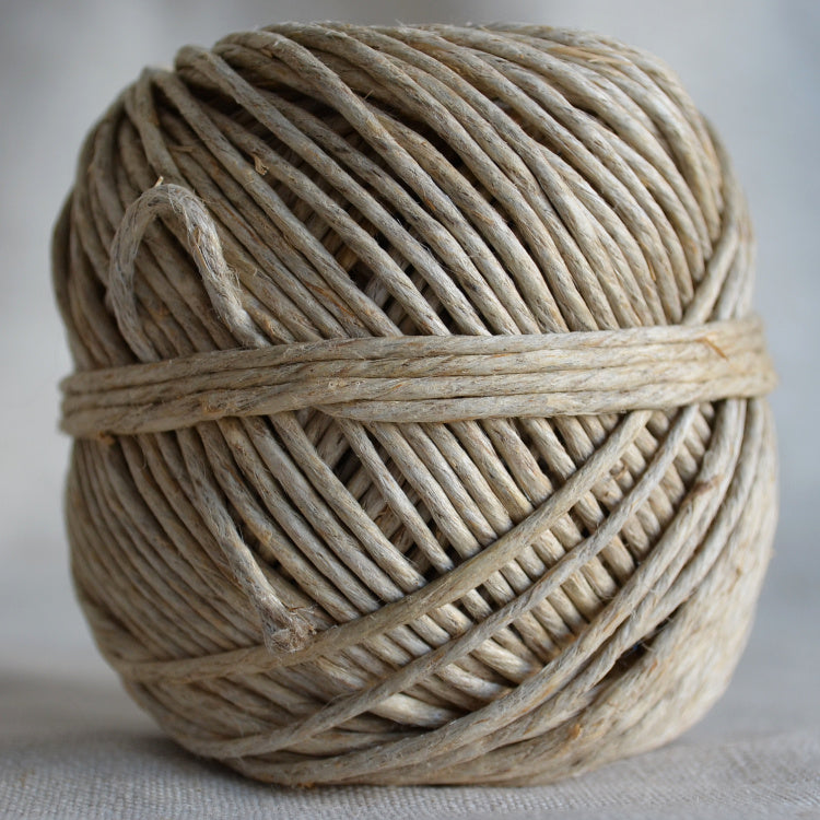 2mm Polished hemp - string-harvest