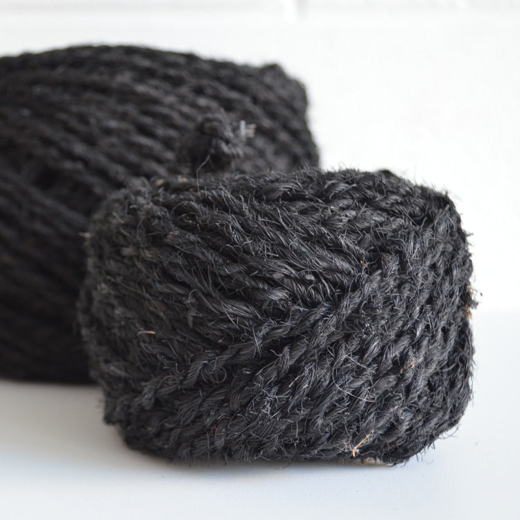 Coconut coir jet black 25m - string-harvest