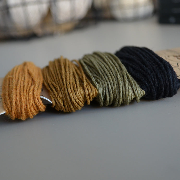 Hemp cord set - Desert Dawn - string-harvest