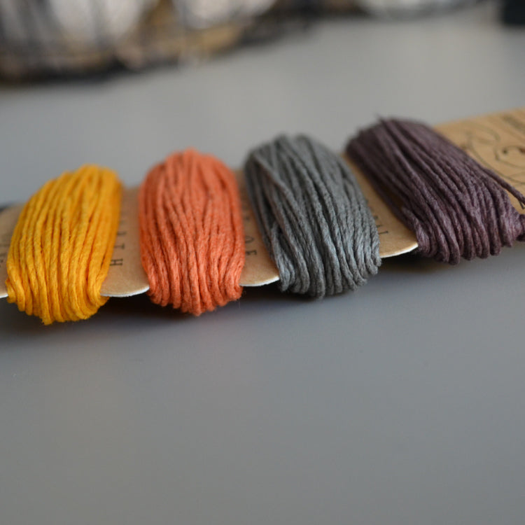 Hemp cord set - Harvest - string-harvest