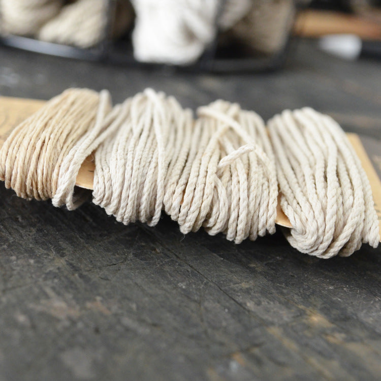 Multiweight hemp cord set: natural - string-harvest
