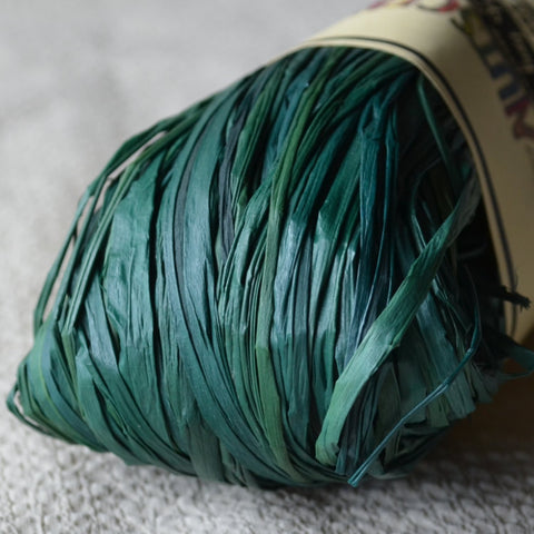 Nutscene Raffia: 50g Hunter green