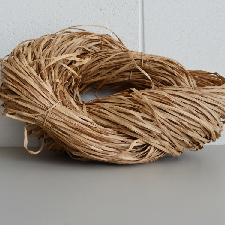 Paperphine paper raffia kraft natural 240m - string-harvest