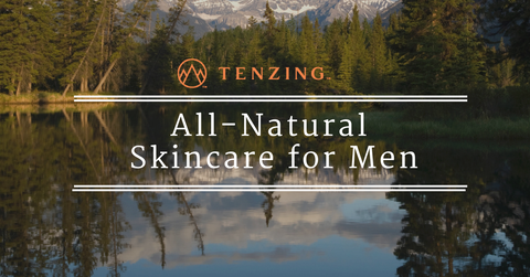 TENZING all natural skincare for men