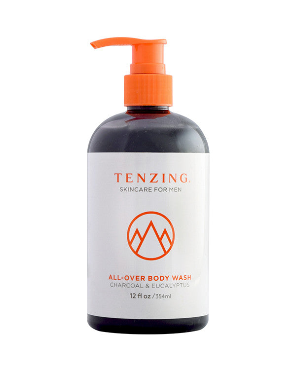All-Over Body Wash — Charcoal and Eucalyptus