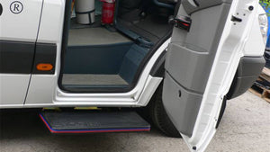 Door - AutoCool Automatic Axial Door Kit - power door and step - motorized door motorized step sprinter transit custom